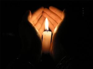 Общение со свечой