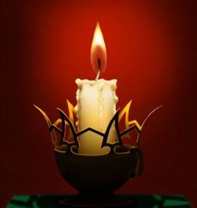 Магия горящей свечи