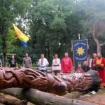 Поругание нововозведённого куммира Перуна в Киеве