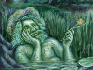 Водяной, Славяне, ведизм, навьи духи