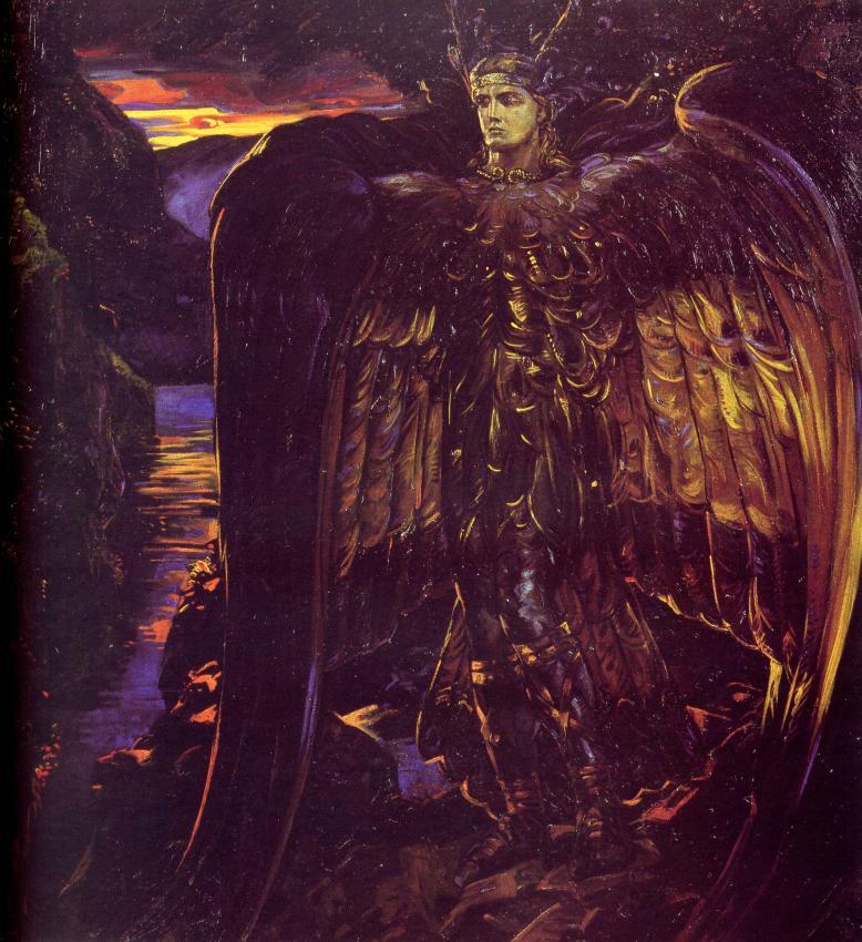 Финст, мифологические птицы, навьи духи славян, былинные персонажи