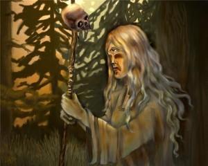 Навьи духи славян, герои русских сказок, русские навьи духи
