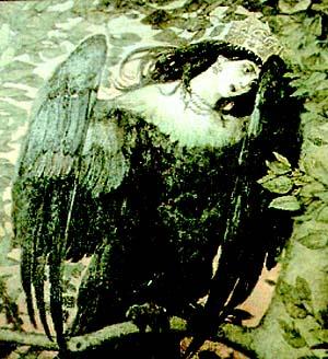 Славянские мифологические птицы, навьи духи славян, персонажи русских сказок