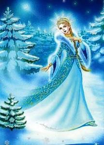 Снегурочка, персонажи русских сказок, навьи духи славян, славянская мифология