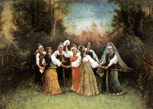 Овсень, Славянские праздники, Ведические традиции и обряды
