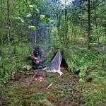 Условия для выживания в тайге, лесу
