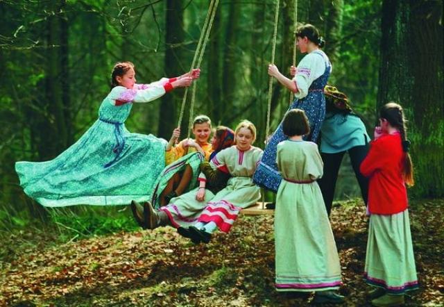 Заклички Весны. Открытие Сварги., славянские праздники и обряды