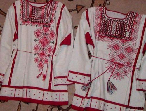 Немного о славянской одежде: повседневной и обрядовой