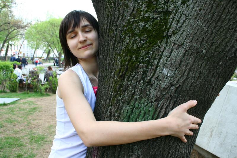 Общение с деревом