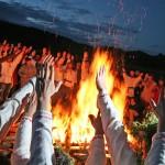 Первый раз на Славянском празднике. Поведение