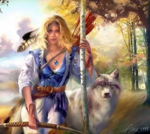 Богиня Девана