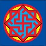 Религиозный славянский символ Валькирия