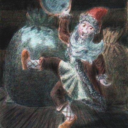 Славянский дух Амбарник