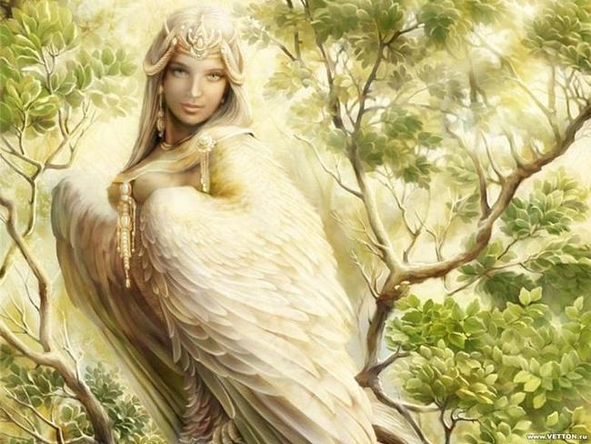 Славянские вещие птицы, Навьи духи славян