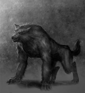 волкодлак, человек-оборотень, мифологические духи славян