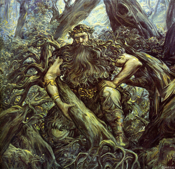Славянские герои, Горыня, навьи духи славян
