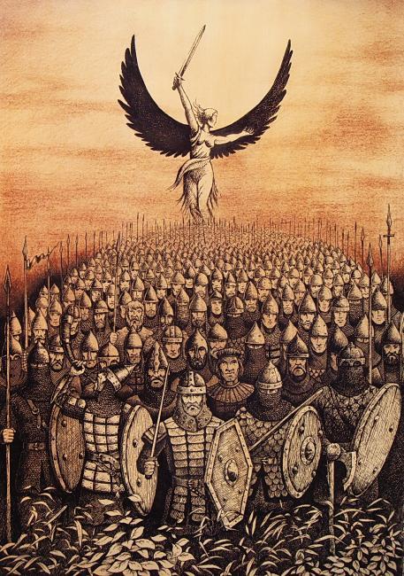 Славянские мифологические птицы, навьи духи русских, персонажи русских сказок