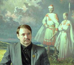 Славянский художник Борис Ольшанский