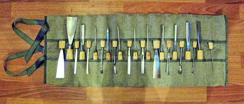 Скатка для режущего инструмента