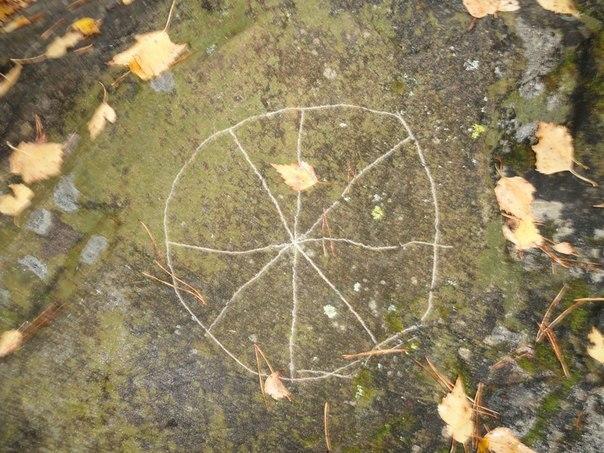 Неизвестные вандалы осквернили сакральное место тиуновского святилища