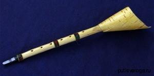 Русский народный духовой музыкальный инструмент Жалейка