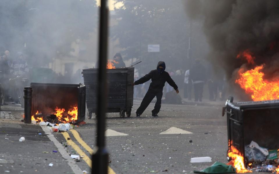 Что делать при уличных беспорядках?
